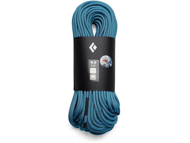 Black Diamond 9.2 Dry Rope 70m Babsi Edition, turquoise/roze